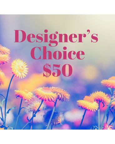 $50 Florists Choice Flower Arrangement