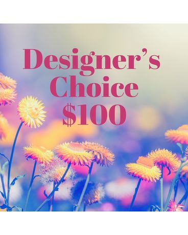 $100 Florists Choice Flower Arrangement