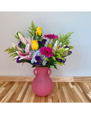 Blooming Summer Flower Arrangement