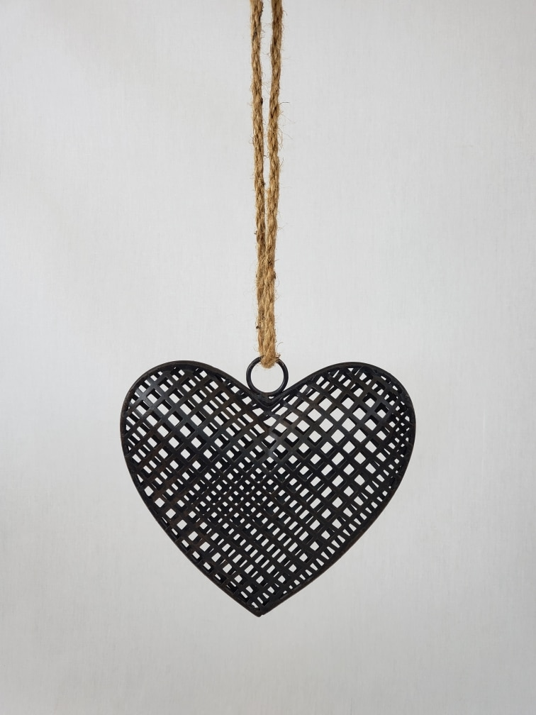Rustic Metal Heart