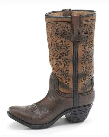 Cowboy Boot Vase Gifts