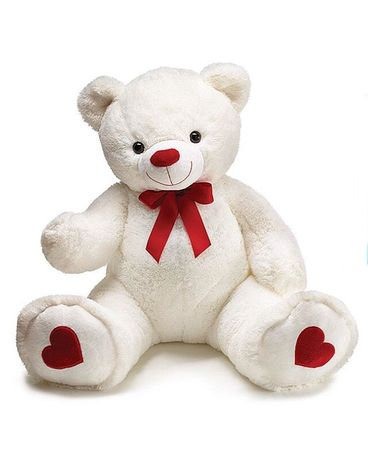 Large White with Red Bear Gifts