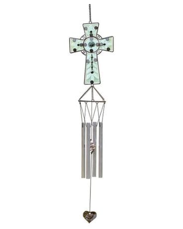Serenity Cross Wind Chimes Gifts