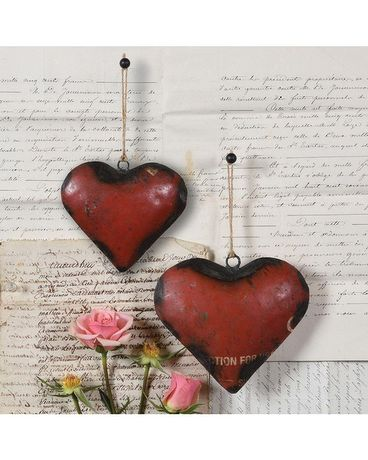 Reclaimed Metal Heart Gifts