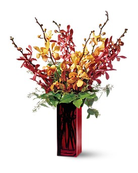 Teleflora's Orchid Splendor Flower Arrangement