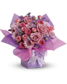 Teleflorau0027s Perfectly Purple Present  sc 1 st  Yerau0027s Lake View Florist & The Gift Box Collection Delivery Chicago IL - Yerau0027s Lake View Florist