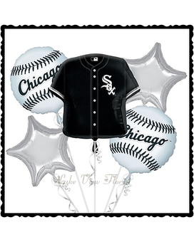 Chicago White Sox Balloon Bouquet Gifts
