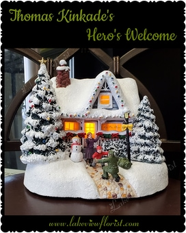 Thomas Kinkade's Hero's Welcome Custom product