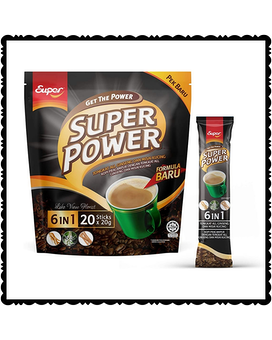 Super Power Instant Coffee 6 in 1 Gifts