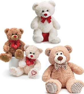 Adorable Plush Bears