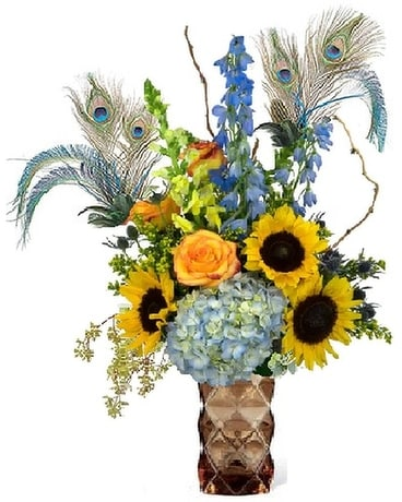 Our Peacock Bronze Beauty Bouquet