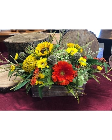 Rustic Flower Arrangement