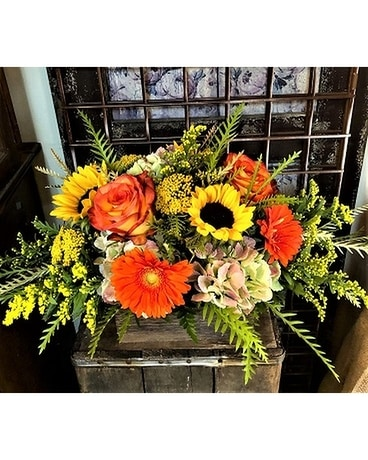Harvest Centerpiece Flower Arrangement