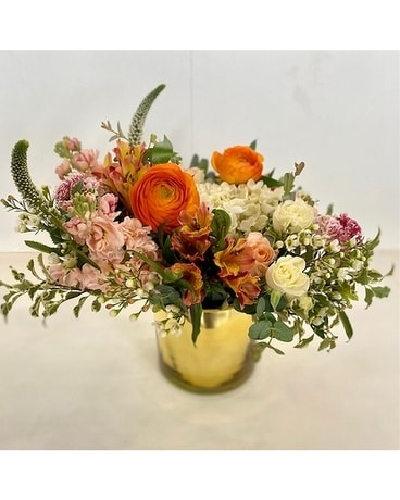 Muted Charm Flower Arrangement