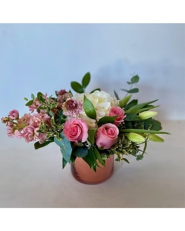 Rose Gold Blooms Flower Arrangement
