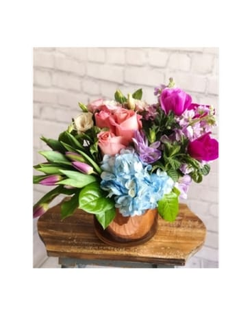 Radiant Love Flower Arrangement