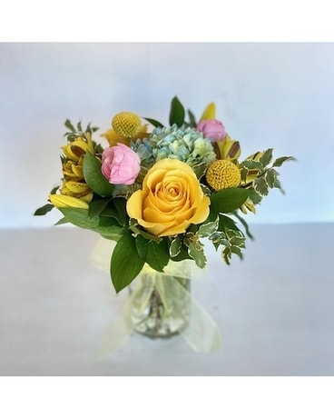 The Mason Mix Flower Arrangement