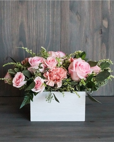 Bloom Box Flower Arrangement