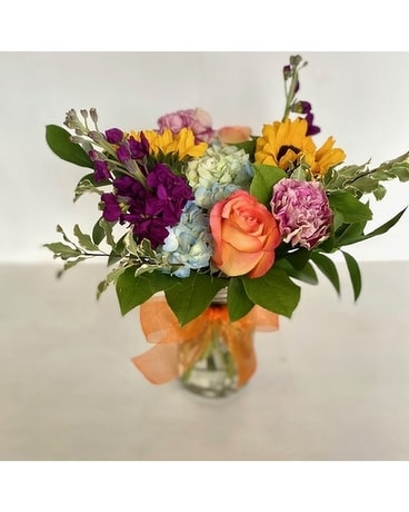 Summer Mason Flower Arrangement