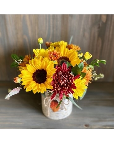 Autumn Trees Flower Arrangement