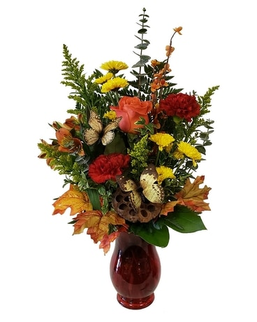 Country Meadow Flower Arrangement