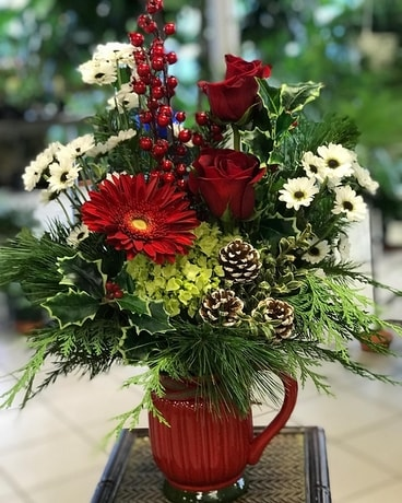 Tis the Season Flower Arrangement