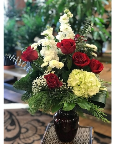 Holiday Joy Flower Arrangement