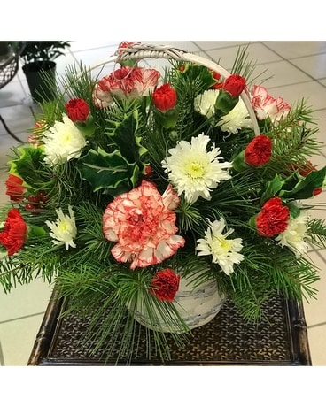 Sleigh Ride Bouquet Flower Arrangement