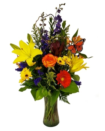 Autumn Pure Happiness Flower Arrangement