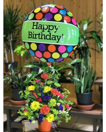Birthday Bash Flower Arrangement
