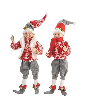 Posable Elf Gifts