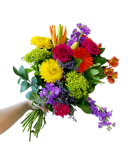 Designers Choice Bright & Colourful Bouquet Flower Arrangement