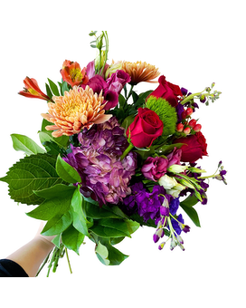 Designers Choice Deep & Dramatic Bouquet