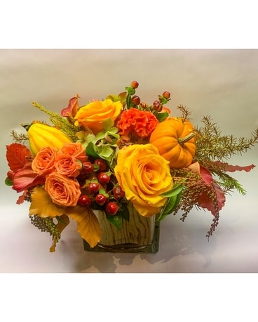 Harvest Bounty Flower Arrangement