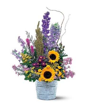 Country Thoughts Flower Arrangement