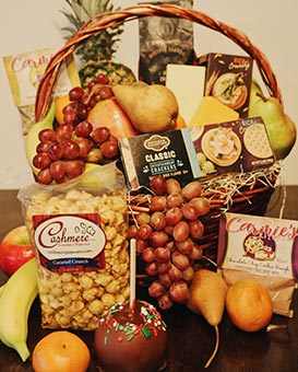 Handcrafted Gourmet Gift Basket, Blooms on Boswell