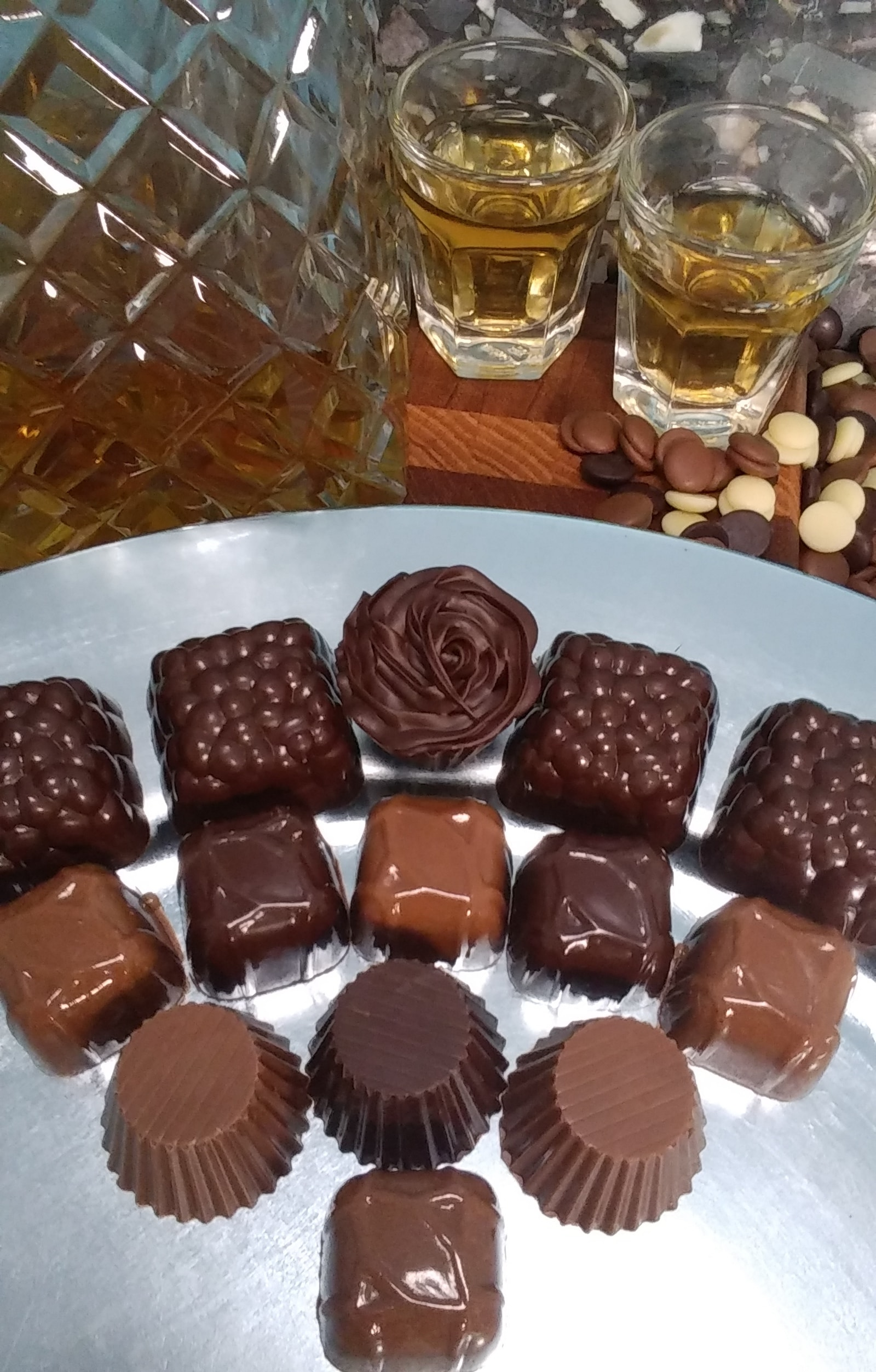 Scotch Malt Whisky Truffles