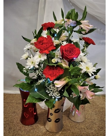 Light Up Her Day Flower Arrangement