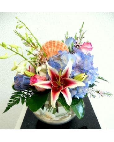 Celebrating the Beach Flower Arrangement