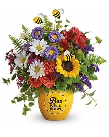 Teleflora's Garden Of Wellness Bouquet Flower Arrangement
