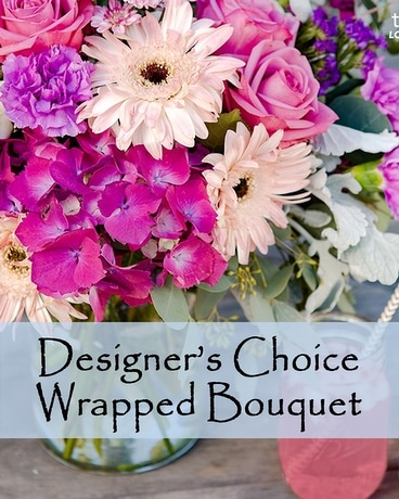 Designer's Choice Handtied Bouquet Flower Arrangement