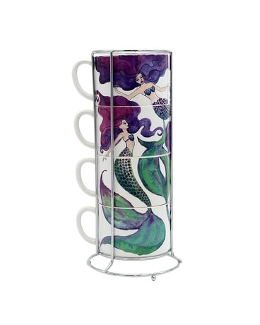 Mermaid Stacking Mug Set Gifts