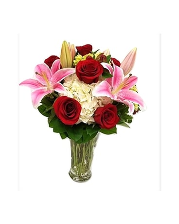 Lavish Gardens Flower Arrangement