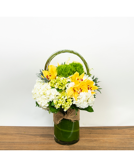 Halo Flower Arrangement