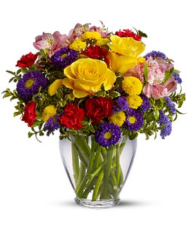 Brighten Your Day - by Leary's Florist Flower Arrangement