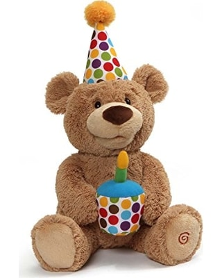 Happy Birthday singing bear