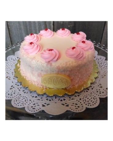 5inch Pink Champagne Cake in Portland OR - Portland Florist Shop