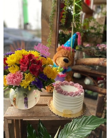 Best Selling Products Birthday Bear With Cake
