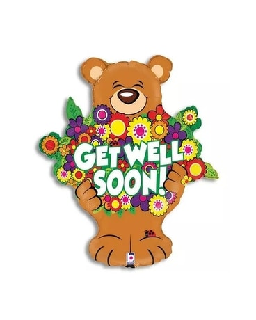 Beary Get Well Balloon Custom product