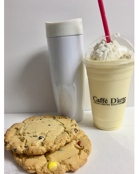 Vanilla Shake with Cookies